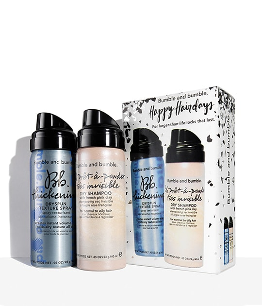 Bb.Holiday Set: Volume + Dry Cleansing Duo