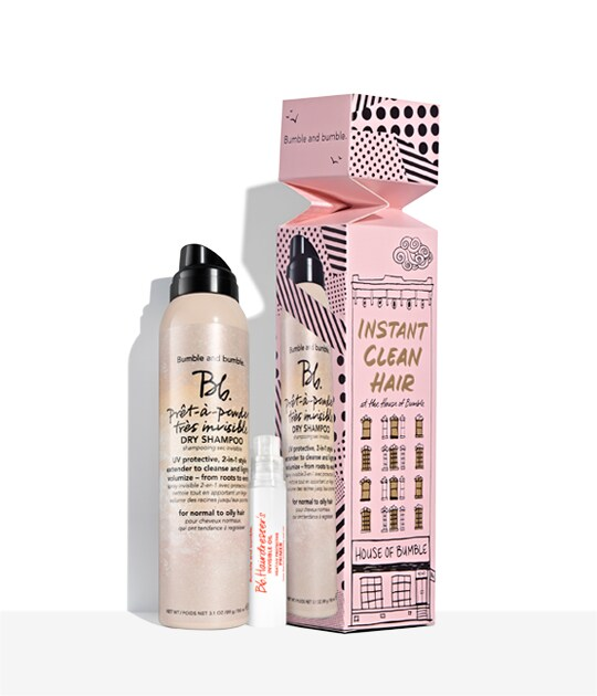 Instant Clean Hair at the House of Bumble Holiday Set