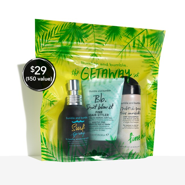 The Bb.Getaway Set for Fine Hair