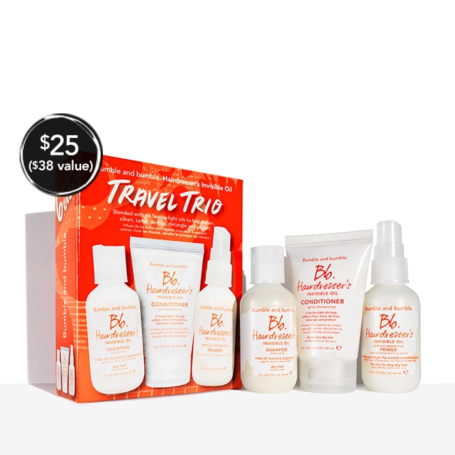 Hairdresser's Invisible Oil Travel Trio
